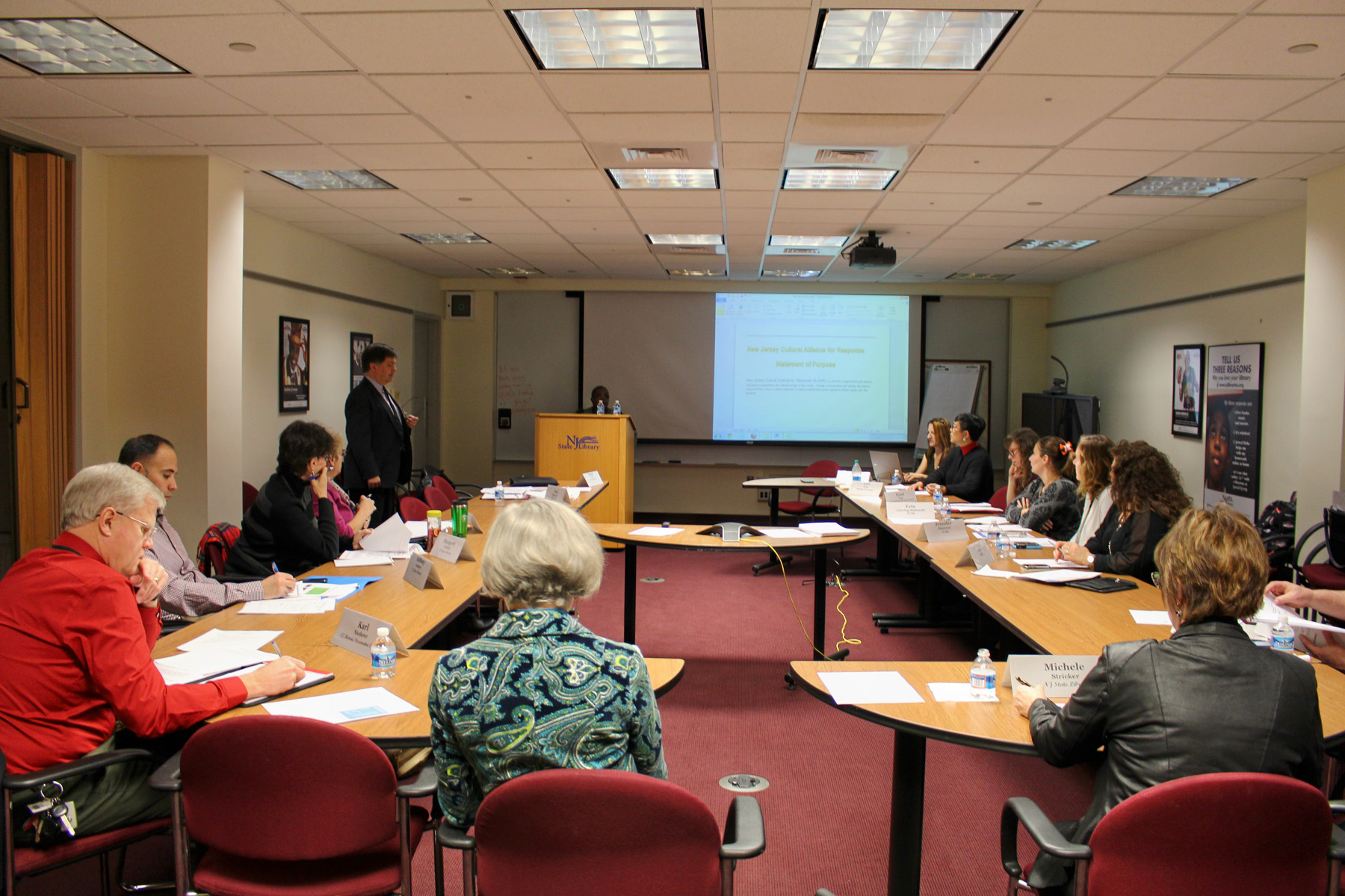 Tom Clareson Leads Disaster Preparedness Training Project in New Jersey